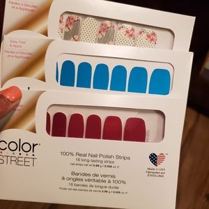 Colorstreet bundle of 3